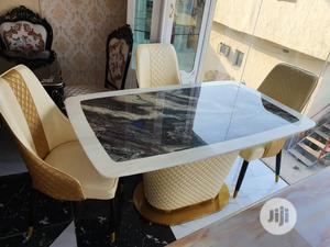 New Design Marble Dining Table by 6 Chairs | Furniture for sale in Lagos State, Ojo