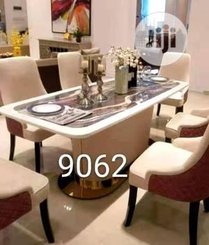New Design Marble Dining Table by 6 Chairs. | Furniture for sale in Lagos State, Ojo