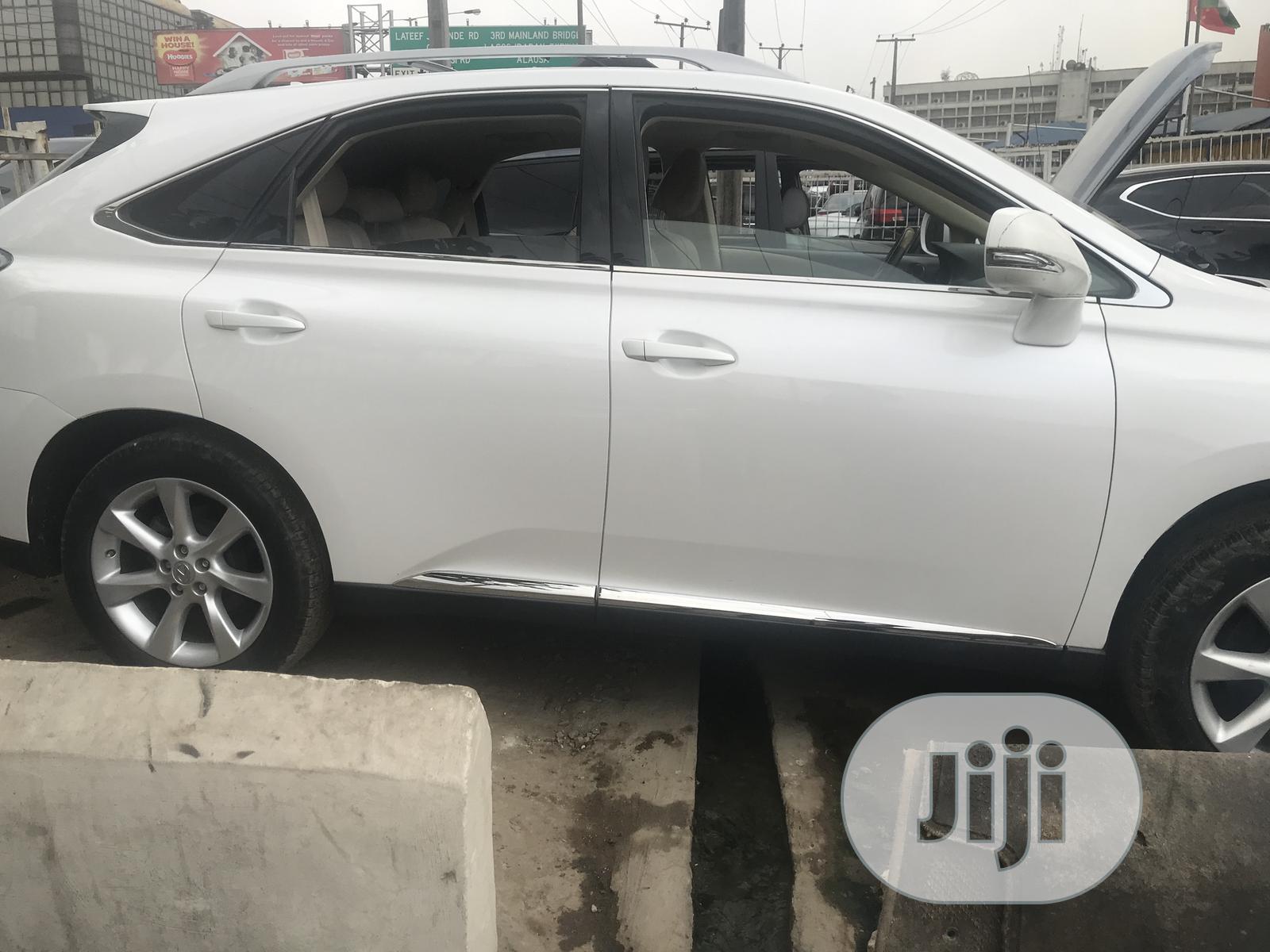 Lexus RX 2011 350 White | Cars for sale in Ikeja, Lagos State, Nigeria
