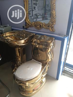 Gold England WC Set Not With the Mirror | Plumbing & Water Supply for sale in Lagos State, Orile