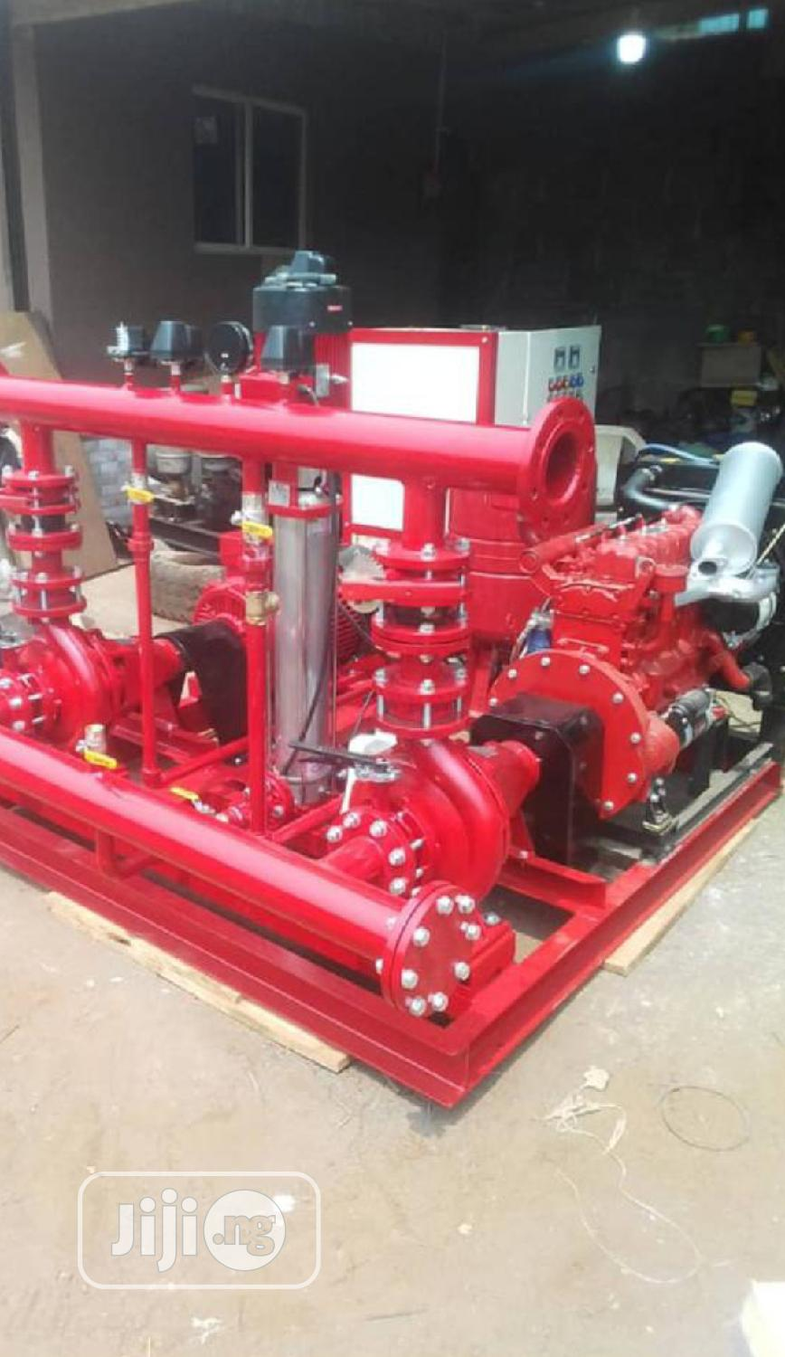 Fire Hydrant Pump Complete System