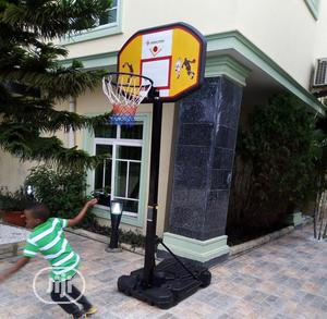 Movable Basketball Stand (Fibre)   Sports Equipment for sale in Lagos State, Victoria Island