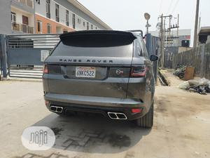Land Rover Range Rover Sport 2017 SVR 4x4 (5.0L 8cyl 8A) Gray   Cars for sale in Lagos State, Lekki