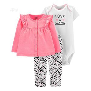 Baby Girl Long Sleeve Cardigan,Short Sleeve Bodysuit Pants   Children's Clothing for sale in Lagos State, Alimosho