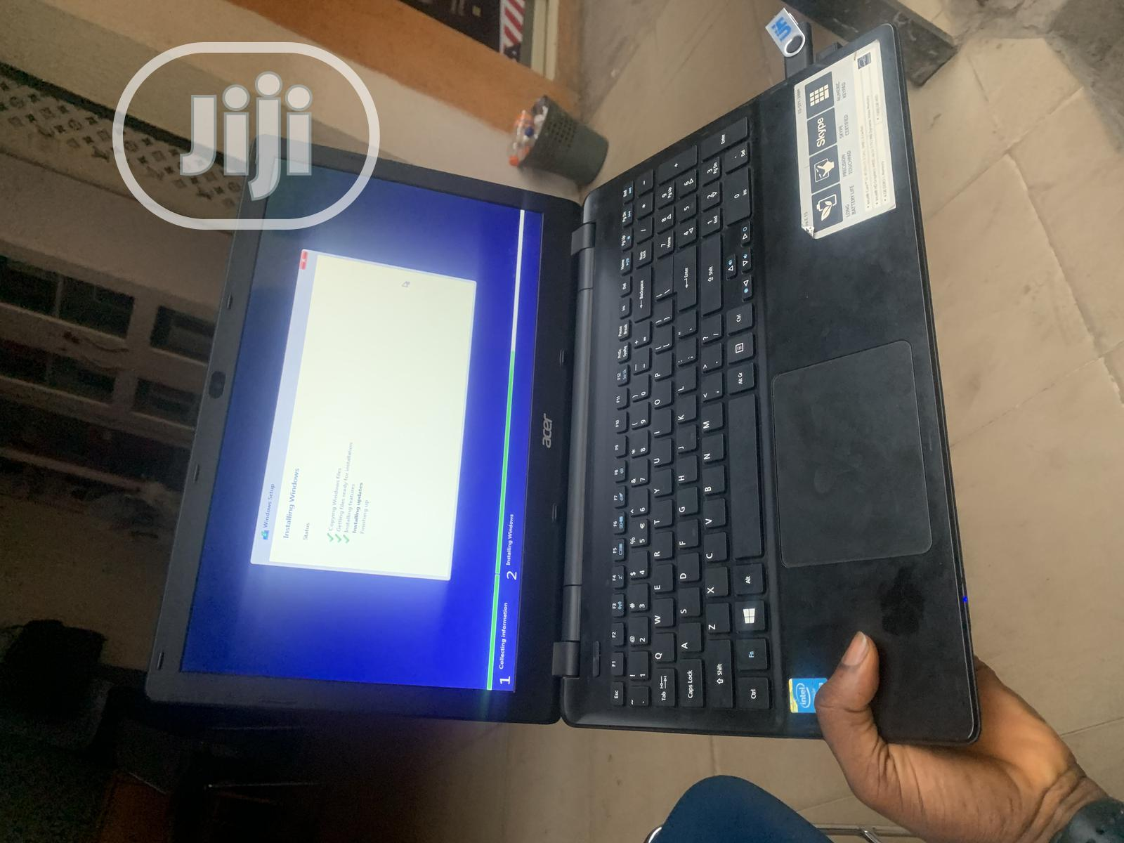 Laptop Acer Aspire E1-570 4GB Intel Core I3 SSD 256GB   Laptops & Computers for sale in Ido, Oyo State, Nigeria