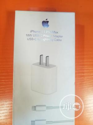 iPhone 11 Pro Max Charger 18w   Accessories for Mobile Phones & Tablets for sale in Lagos State, Ikeja