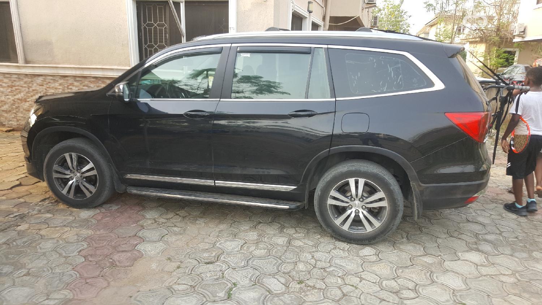 Honda Pilot 2016 Black   Cars for sale in Ajah, Lagos State, Nigeria