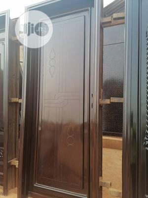 Standard 3ft by 7ft Front Door for Sale.   Doors for sale in Lagos State, Surulere
