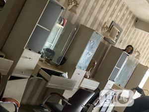 5 Shelves With Light Effect,Each With Mirror and Drawer   Salon Equipment for sale in Osun State, Osogbo