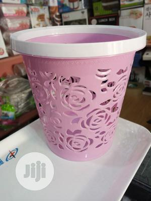 Plastic Lace Waste Bin | Home Accessories for sale in Lagos State, Surulere