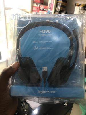 Logitech Headphone H390 | Headphones for sale in Lagos State, Ikeja
