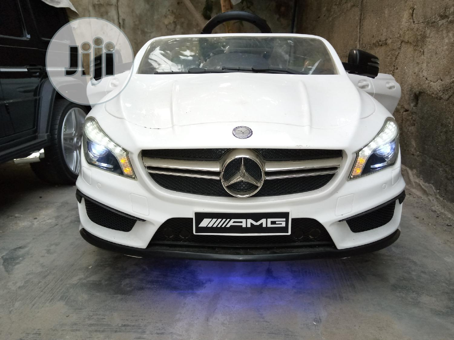 Cool Uk Used Licensed Kids Mercedes Benz CLA45 Super Car | Toys for sale in Surulere, Lagos State, Nigeria
