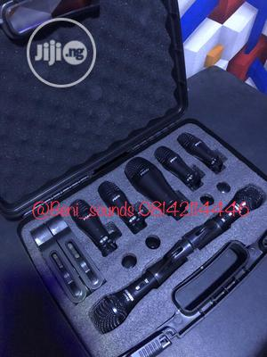 Shure 7set Drum Microphone | Audio & Music Equipment for sale in Lagos State, Ojo