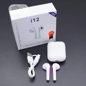 I12 Tws Wireless Bluetooth Earphones   Headphones for sale in Imo State, Owerri