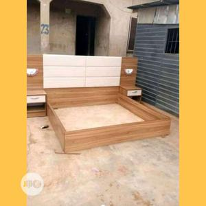 6 by 6 Bed Frame With Bed Side   Furniture for sale in Lagos State, Ikeja