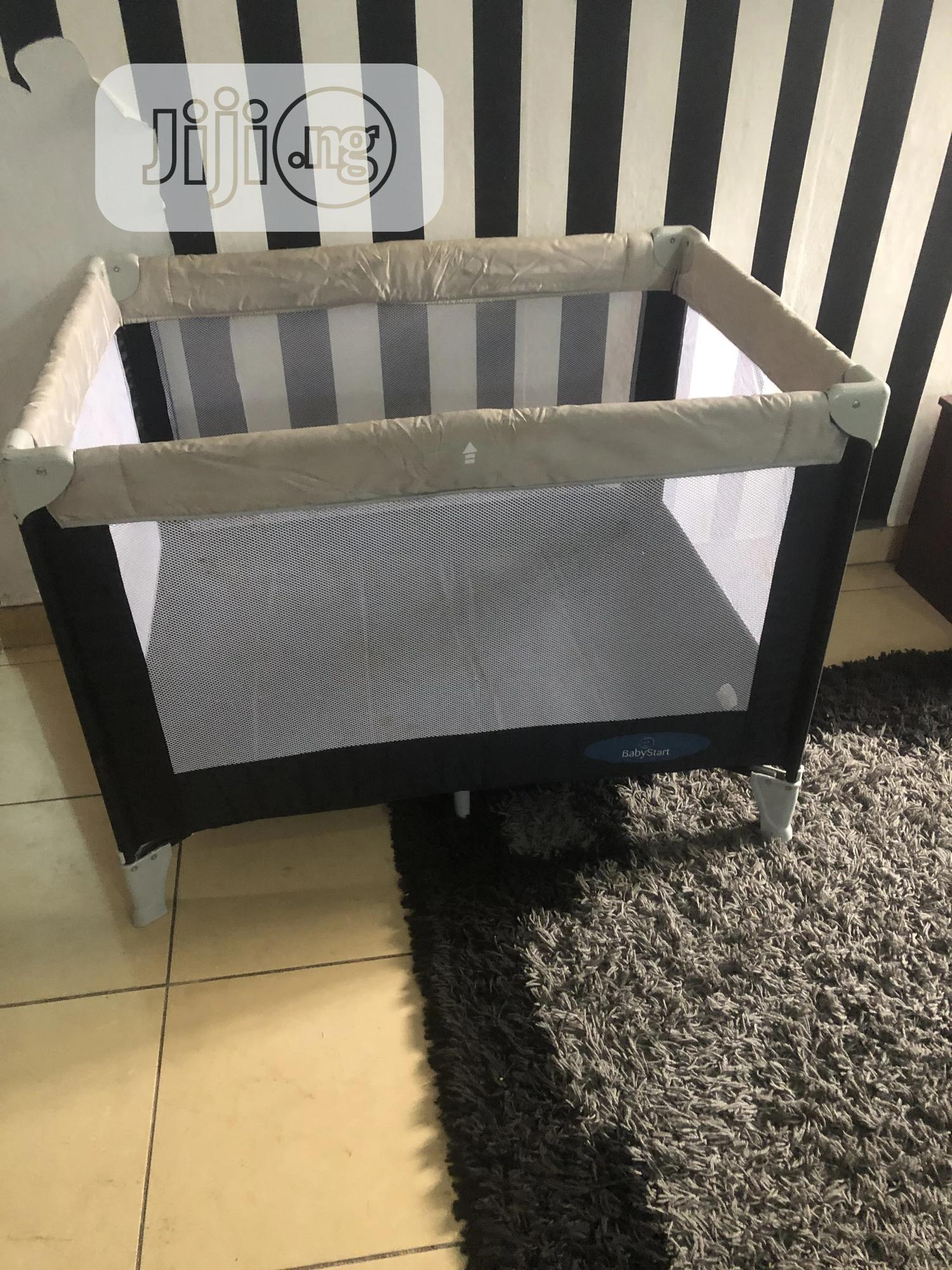 Uk Used Baby Cot and Play Pen | Children's Furniture for sale in Ajah, Lagos State, Nigeria