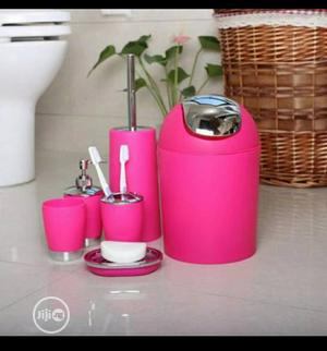 6 Pieces Bathroom Accessories   Home Accessories for sale in Lagos State, Ifako-Ijaiye