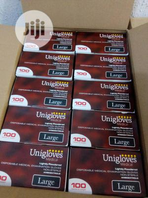 Slightly Powdered Latex Gloves | Medical Supplies & Equipment for sale in Lagos State, Isolo