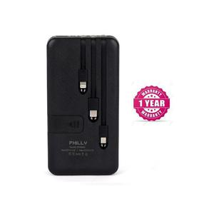 Philly Portable Power Bank 20000mah With 4 Outputs (Real Cap   Accessories for Mobile Phones & Tablets for sale in Lagos State, Ipaja
