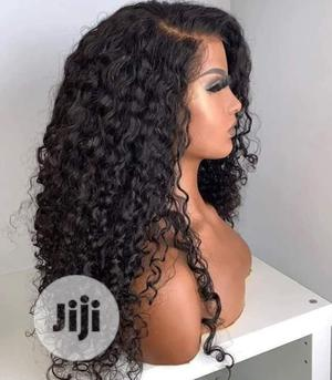 18inches Water Curly Hair Wig | Hair Beauty for sale in Lagos State, Surulere