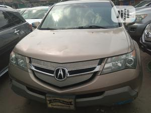 Acura MDX 2008 SUV 4dr AWD (3.7 6cyl 5A) Gold | Cars for sale in Lagos State, Apapa