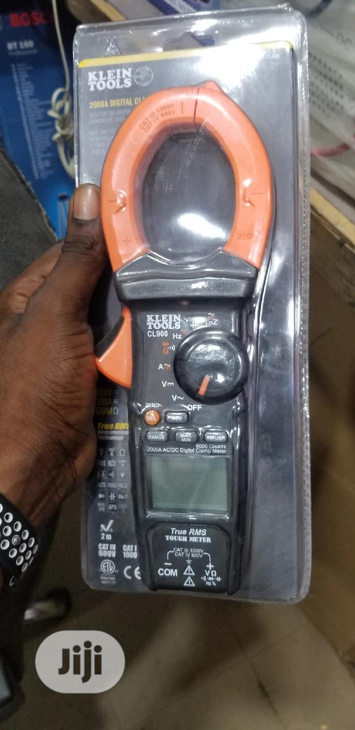 Klein Tools CL900 2000A Digital Clamp Meter | Measuring & Layout Tools for sale in Ojo, Lagos State, Nigeria