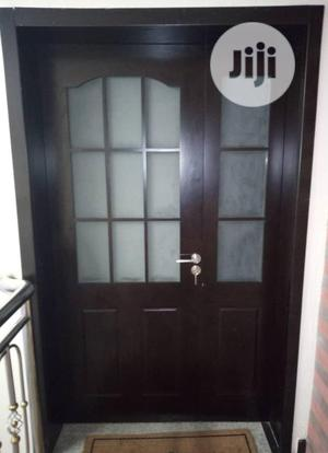 4ft by 7ft Turkey Hardwood Floor With Glass   Doors for sale in Lagos State, Orile