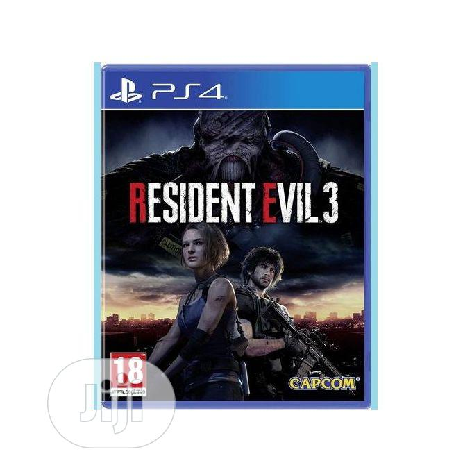 Archive: S4 Resident Evil 3 - Playstation 4 Game