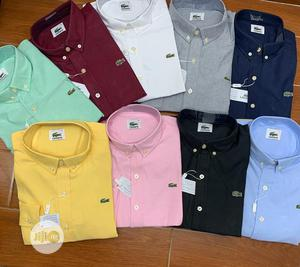 Classic Corporate Lacoste Shirt for Men | Clothing for sale in Lagos State, Lagos Island (Eko)