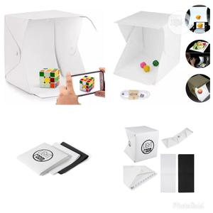 Foldable Photo Light Box With Black White Background Panel   Accessories & Supplies for Electronics for sale in Lagos State, Ikorodu