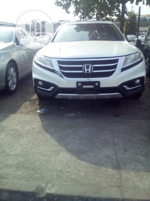 Honda Accord CrossTour 2014 EX-L W/Navigation AWD White | Cars for sale in Lagos State, Amuwo-Odofin