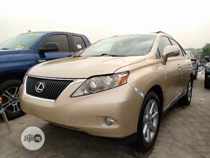Lexus RX 2010 Gold   Cars for sale in Lagos State, Apapa