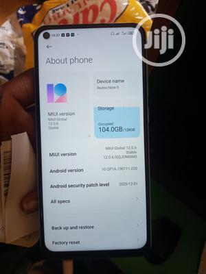 Xiaomi Redmi Note 9 128 GB Blue   Mobile Phones for sale in Enugu State, Igbo-Eze North