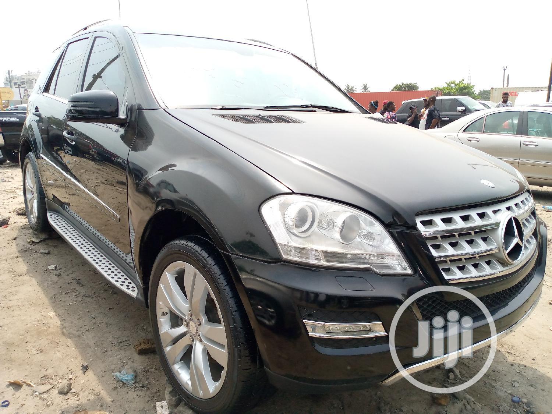 Mercedes-Benz M Class 2010 ML 350 4Matic Black   Cars for sale in Apapa, Lagos State, Nigeria
