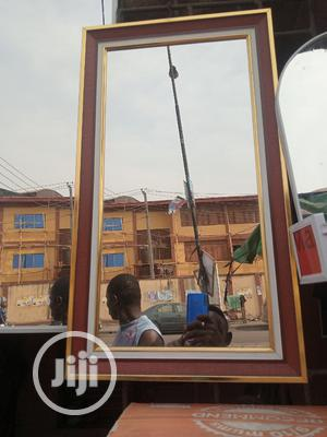 Brown Frame Mirror | Home Accessories for sale in Lagos State, Orile