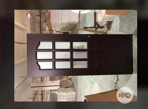 HDF Wooden Glass Door   Doors for sale in Lagos State, Orile