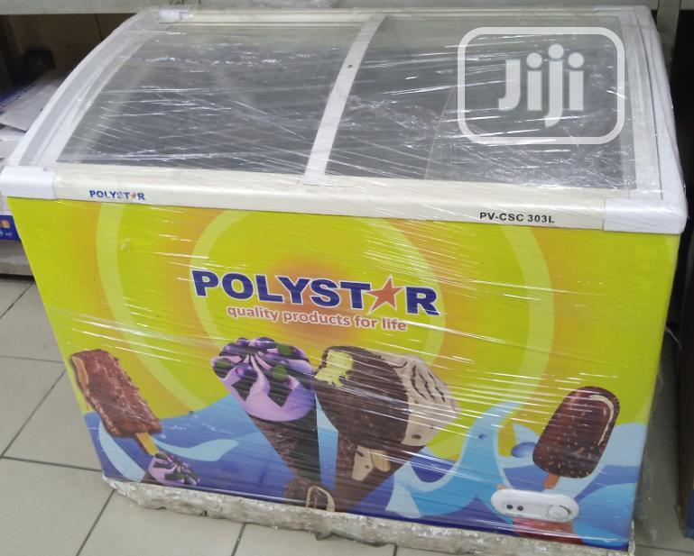 Polystar Showcase Freezer (PV-CSC303L)