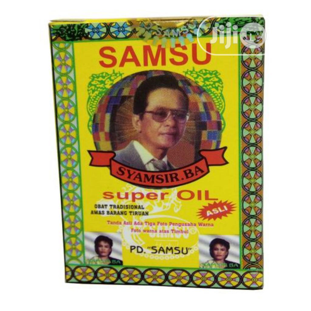 Archive: Samsu Super Effective Delay/Premature Ejaculation Oil