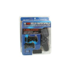 USB Twins Wireless Vibration Controller 2.4ghz For PC & Notb | Video Game Consoles for sale in Lagos State, Ikeja