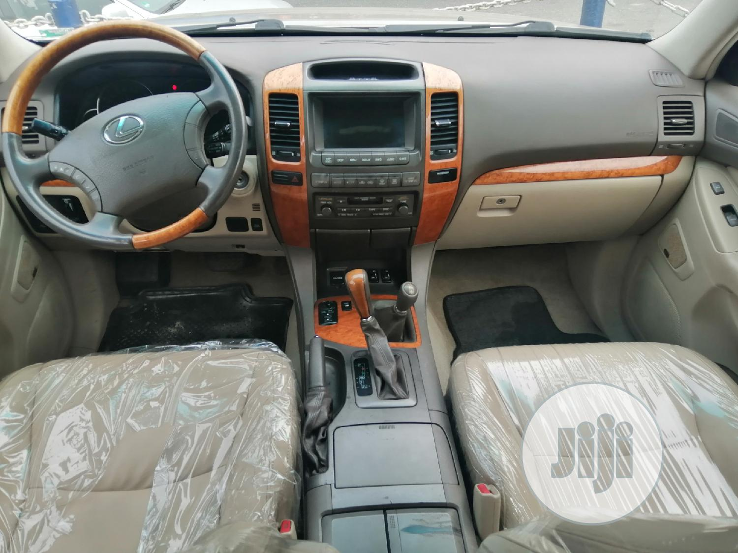 Lexus GX 2003 Gold   Cars for sale in Port-Harcourt, Rivers State, Nigeria
