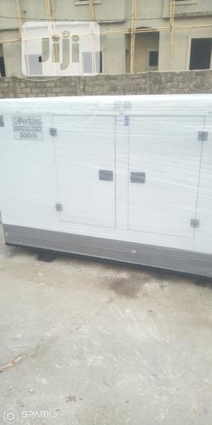 Perkins 80kva Soundproof Diesel Generator   Electrical Equipment for sale in Lagos State, Ikeja