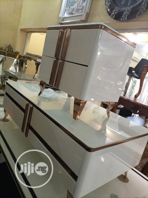 Latest Tv Stand With Center Table Side Stools   Furniture for sale in Lagos State, Lekki