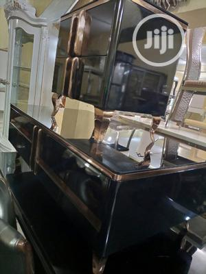 Latest Design Tv Stand With Center Table and Two Side Stools | Furniture for sale in Lagos State, Lekki