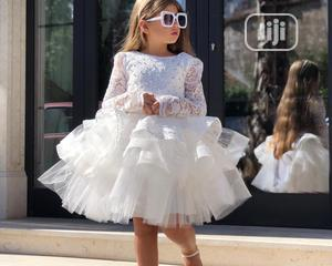 White Ball Dress | Children's Clothing for sale in Lagos State, Amuwo-Odofin