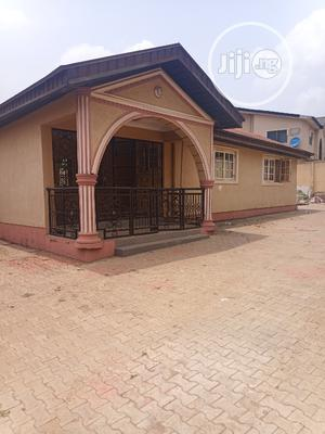 Luxury Built 4bedroom Bungalow at Gowon Estate, Egbeda | Houses & Apartments For Sale for sale in Ipaja, Ayobo