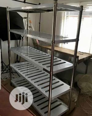 Commercial Stainless Steel Shelve | Store Equipment for sale in Lagos State, Ojo