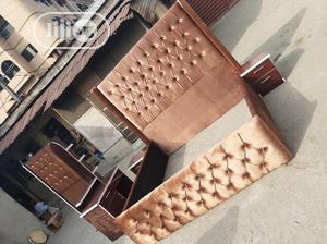 7by6 Upholstery Bed Frame. | Furniture for sale in Lagos State, Ojo