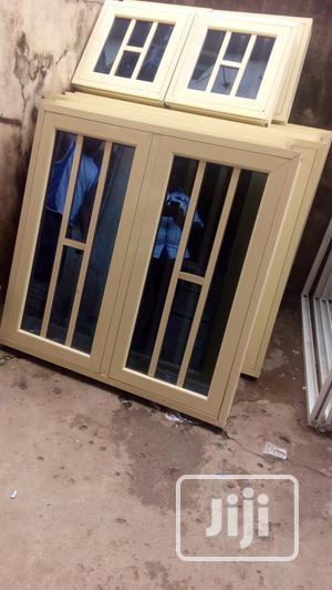 Aluminium Casemet Window With Net   Windows for sale in Lagos State, Gbagada