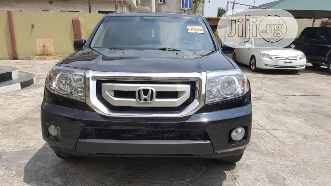 Honda Pilot 2010 Black   Cars for sale in Ikeja, Lagos State, Nigeria
