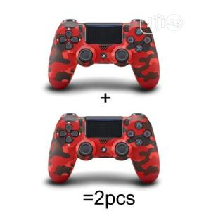 Ps4 Gamepad Controller With Touchpad Lightbar - Red Camo | Video Game Consoles for sale in Lagos State, Ikeja